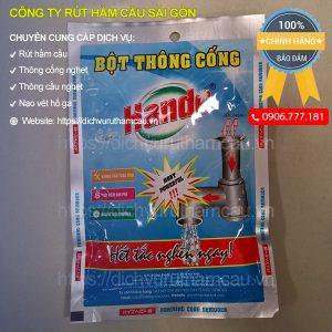 Bột thông cống Hando 100g, bột thông cống cực mạnh tốt nhất giá rẻ-01